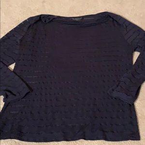 INC Women's Sz XL Long Sleeve T shirt and Cami